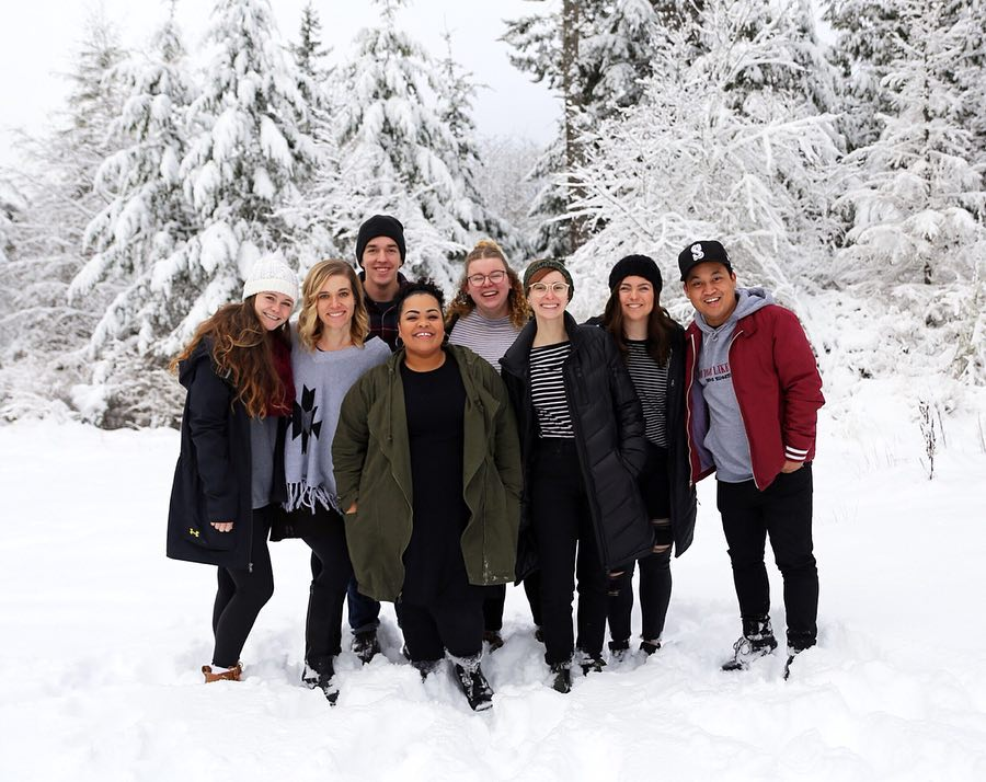 Kayla - Friends, Snow